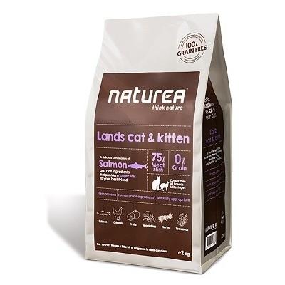 Naturea Lands Pienso Cat and Kitten para hurones