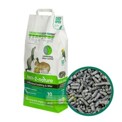 Back-2-Nature Lecho papel prensado reciclado para hurones