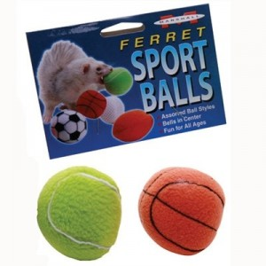 Marshall Sport Balls juguete para hurones