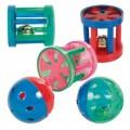 Juguete para hurones con forma de pelota o cilindro