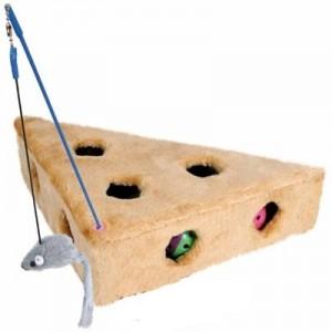 Trixie Juguete trozo de queso con agujeros para hurones