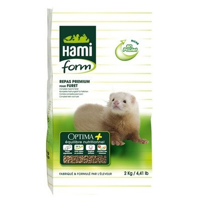 Hami Form Pienso Optima Plus para hurones