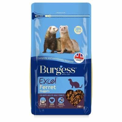 Burgess Excel Ferret pienso para hurones