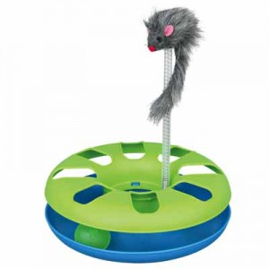 Trixie Juguete interactivo muelle raton y pelota