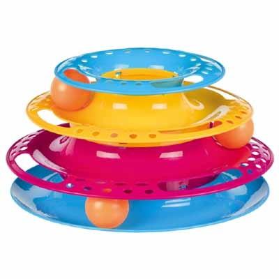 Trixie Juguete torre con pelotas escondidas para hurones