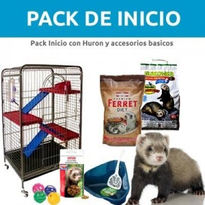 PACK INICIO - (Huron Marshall + Accesorios)