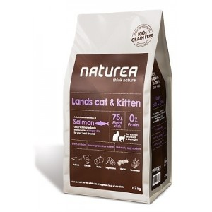 Naturea Lands Pienso Cat and Kitten para hurones