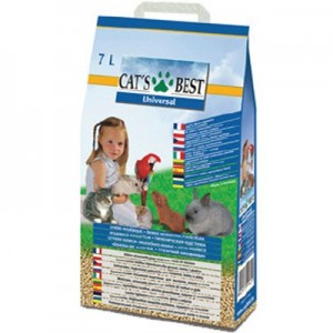 Cat´s Best lecho vegetal de pellets universal para hurones