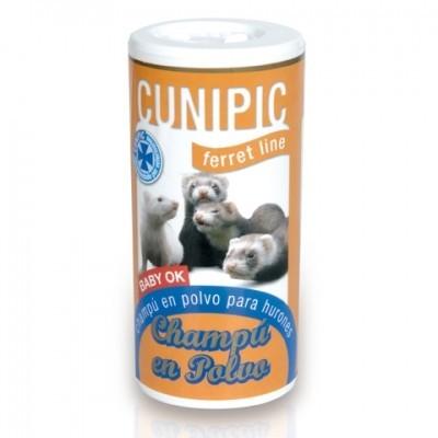 Cunipic Champu seco en polvo para hurones