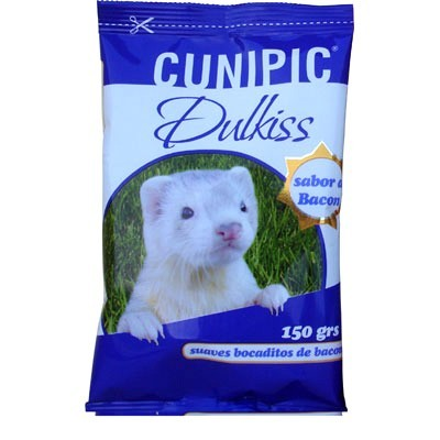 Cunipic dulkiss bacon 150 grs Snacks para hurones
