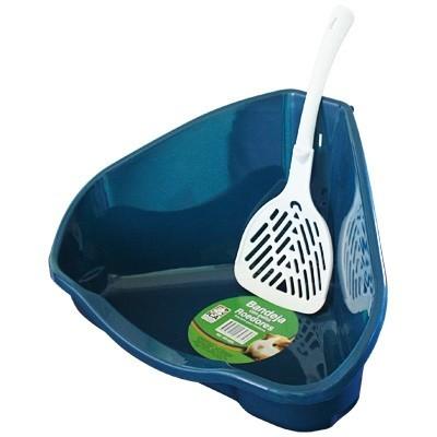 ICA Bandeja higienica con pala para hurones